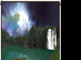 《猎灵》中的清溪幽湖