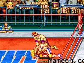 经典街机游戏赏析0022:火线摔跤