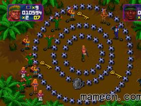 经典街机游戏赏析0007:totcarn 黑珍珠部队