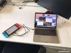 """任天堂Switch还能当""""充电宝"""" 可以给MacBook充电"""