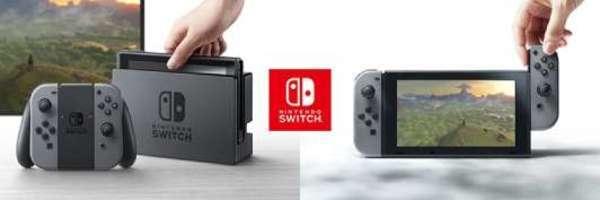 任天堂宣布Switch发布会将于2017年1月13日中午12点正式召开!