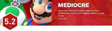 《马里奥派对:星星冲刺》IGN评分出炉 这款游戏就是来坑任天堂的!