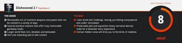 《耻辱2》首批媒体评分已公布 Gamespot给予8分评价