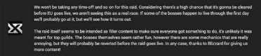 各大公会发表对《魔兽世界》7.1勇气试炼副本的看法:并不关心