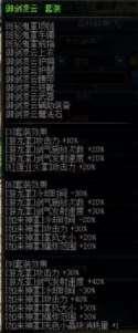 伤害与CD收益 dnf剑豪四套异界套装完整计算