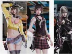 《最终幻想15》女性角色图曝光 男玩家看了之后表示根本把持不住