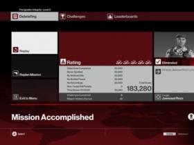 《杀手6》第三章升级任务3分20达成心得分享