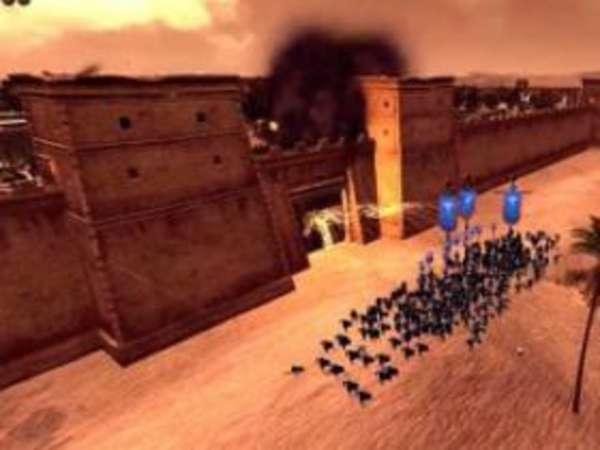 《罗马2:全面战争》守城BUG运用