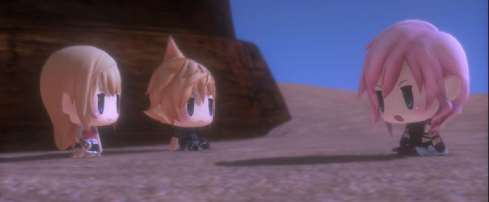 《最终幻想世界》Demo登陆PlayStation商店 体验不一样的最终幻想