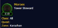 《魔兽》7.1职业大厅新增随从卡拉赞的莫罗斯 光头真的加暴击?