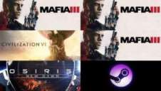 Steam上周销量排行《四海兄弟3》成功问鼎 《文明6》紧随其后