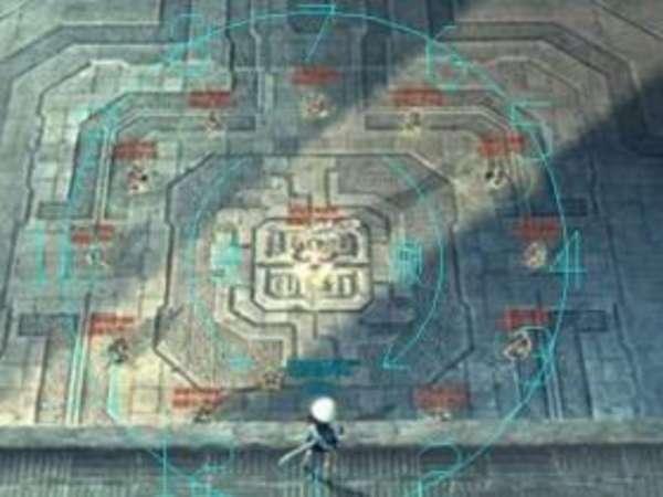 剑灵分裂迷宫第一张图炸人示意 图示技巧