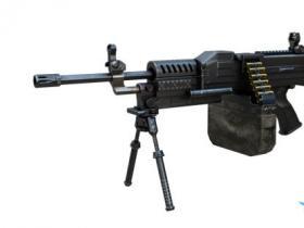 《cf》新武器LSAT机枪介绍