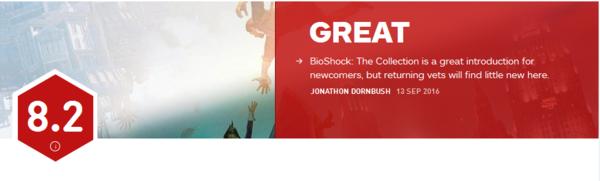 《生化奇兵:合集》IGN评分公布 8.2分一盘不错的冷饭