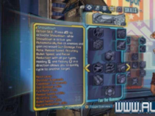《无主之地:前传》妮莎全技能一览 妮莎有哪些技能