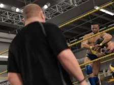 《WWE 2K15》如何拖拽对手 拖拽对手方法解析攻略