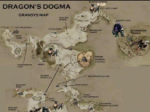 《龙之信条:黑暗崛起》怪物分布图及刷新时间一览