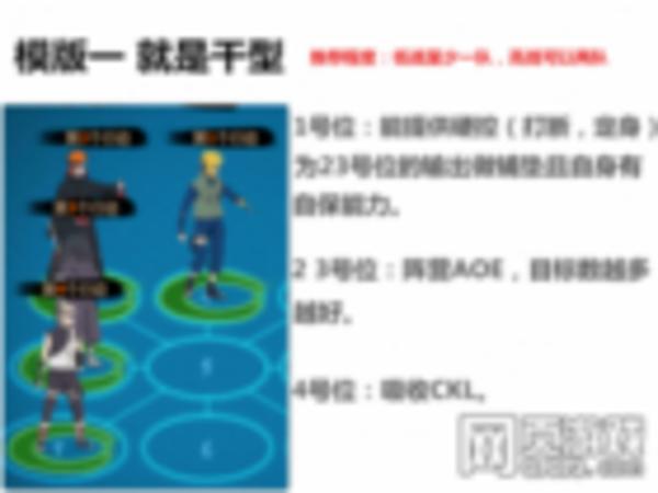 火影忍者OL排位战阵容搭配 最新版